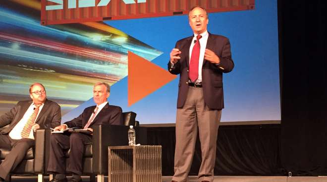 Truckload execs talk ELDs at IANA