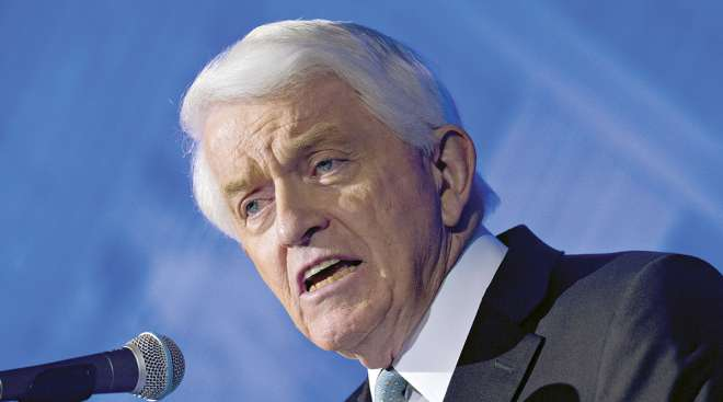 U.S. Chamber of Commerce CEO Tom Donohue