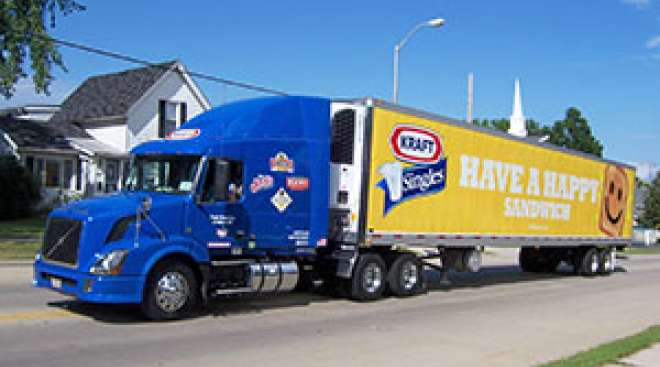 kraft to phase out truck fleet