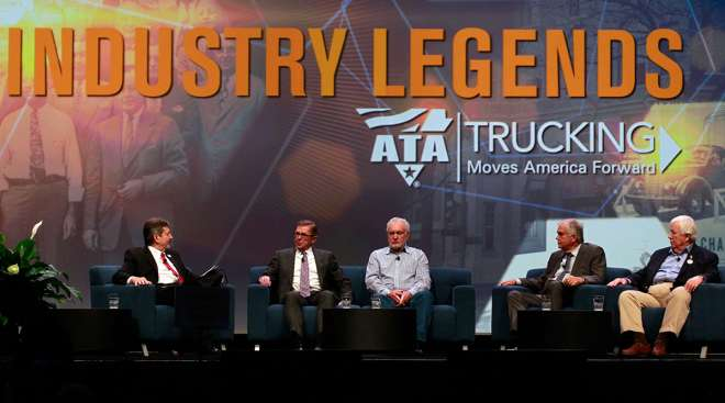 Trucking legends panel