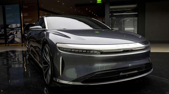 A prototype of the Lucid Air
