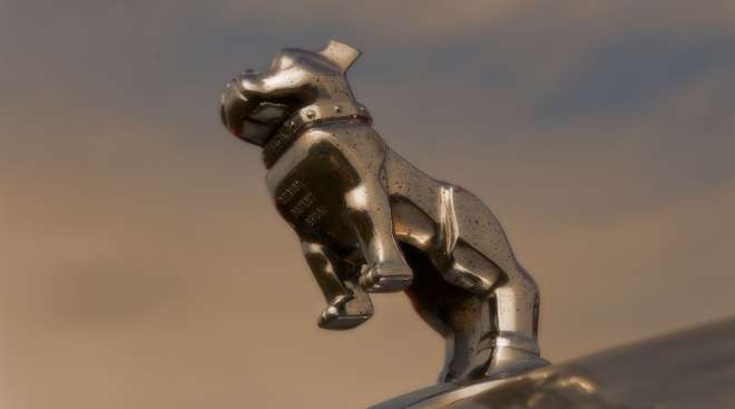 Mack truck hood ornament