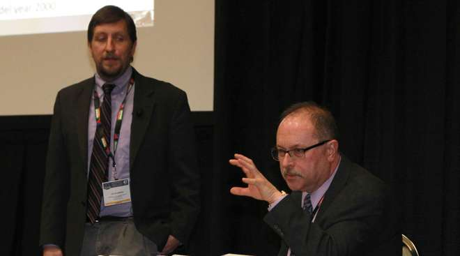 FMCSA officials Joe DeLorenzo, Bill Mahorney