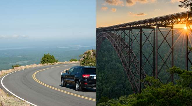 Maine and West Virginia images by Getty Images