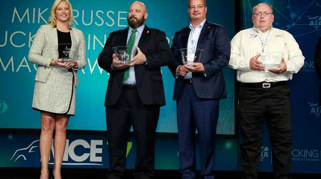 Mike Russell Image Award recipients