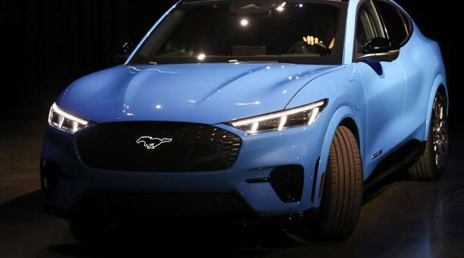Electric Mustang SUV