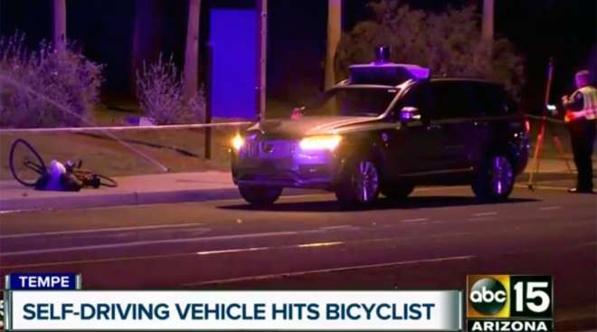 Self-driving Uber involved in fatal accident in Tempe, Ariz., in 2018
