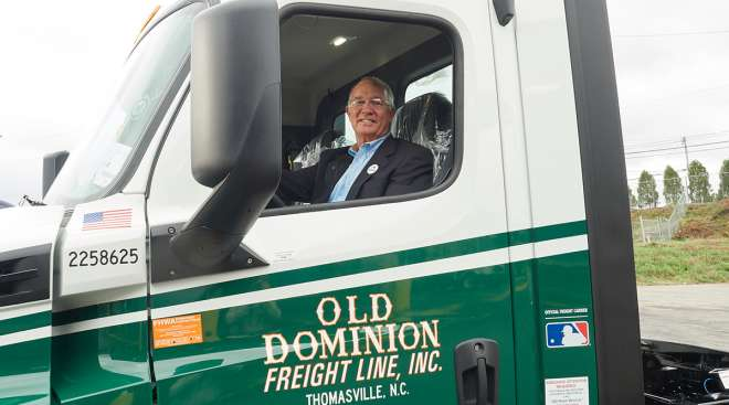 Old Dominion Freight Line Inc. CEO David Congdon