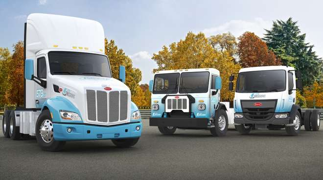 Paccar electric vehicles
