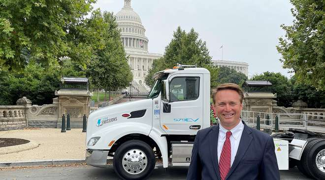 Paccar's new chief technology officer, John Rich