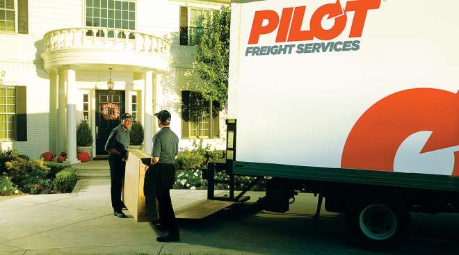 Pilot Freight Services delivery