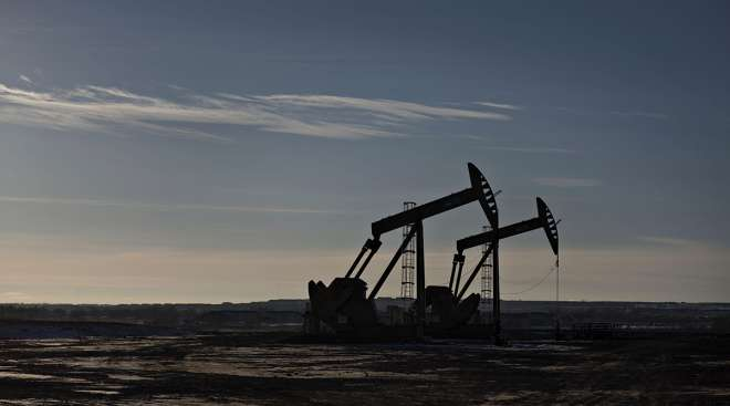 crude oil pumpjacks