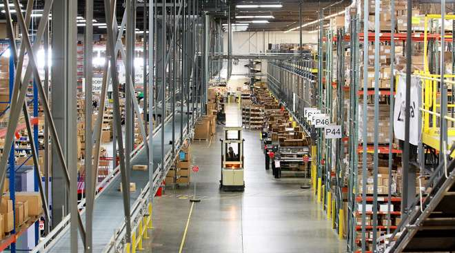 Radial fulfillment center in Louisville, Ky.