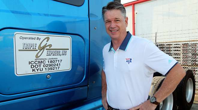 Randy Guillot is the new American Trucking Associations (ATA) chairman.