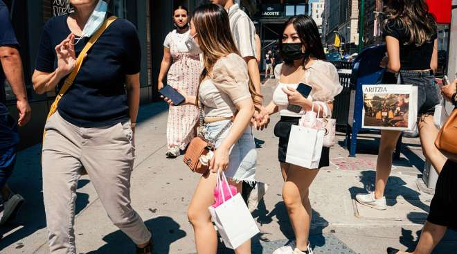 Retail Sales Unexpectedly Jump in Sign of Resilient Demand