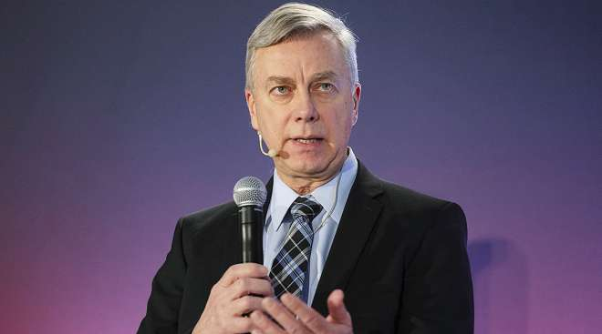 Jean-Jacques Ruest, president and chief executive officer of Canadian National Railway Co.