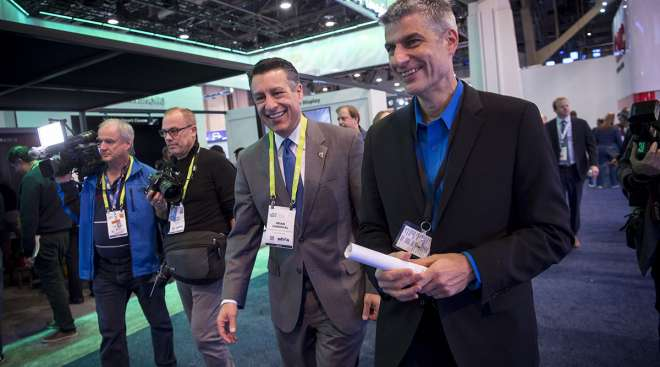 Sandoval at CES