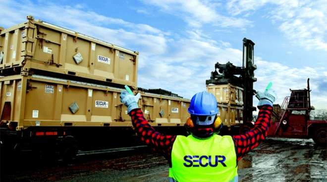 Secur containers
