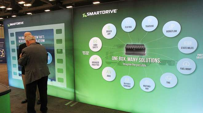 SmartDrive booth at MCE2018