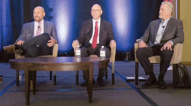 Panelist discuss the state of autonomous trucking