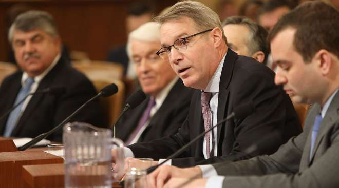 Chris Spear testifying before House committee