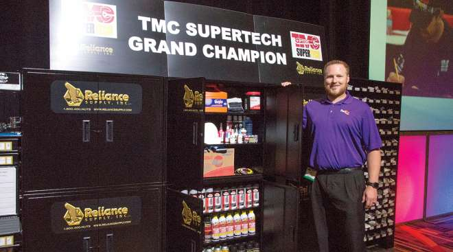 SuperTech Grand Champion Mark McLean