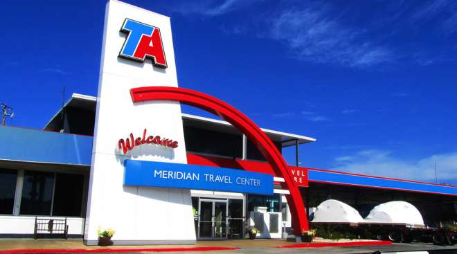 TravelCenters of America in Meridian, Mississippi