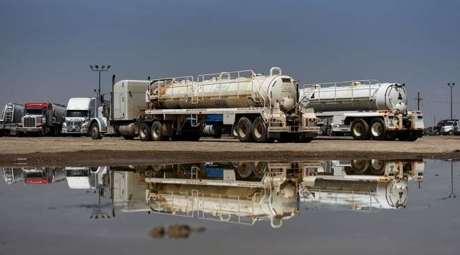 Driver shortage in Texas oil fields