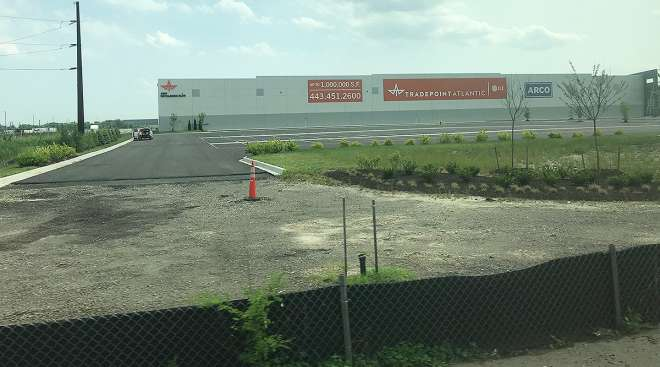Tradepoint Atlantic's Sparrow's Point Warehouse