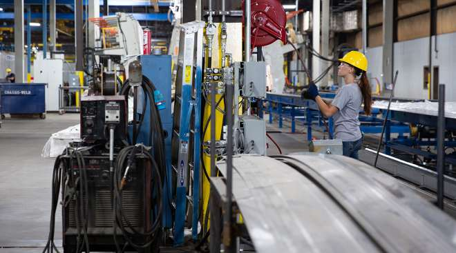 Stoughton Trailers manufacturing plant