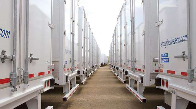 Stoughton trailers at Wisconsin plant