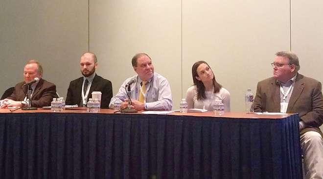 Panelists at TRB session