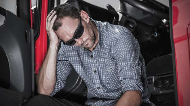 The lifestyle of a truck driver can take a toll on emotional and physical health.