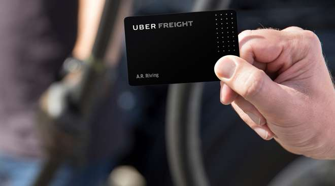 Uber Freight discount card
