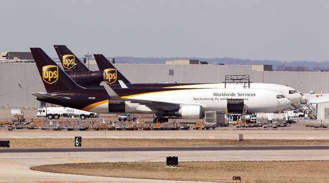 UPS planes at Worldport