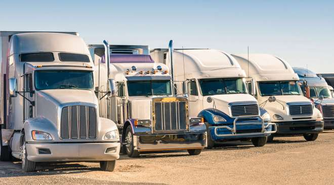 used truck lot