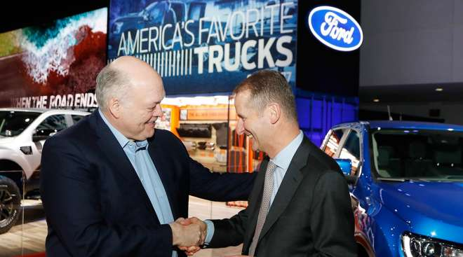 Ford at Auto Show