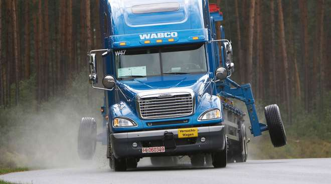 Wabco test track near Hanover, Germany