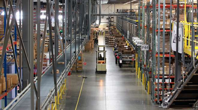 Warehouse fulfillment center