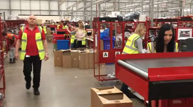 XPO Logistics workers