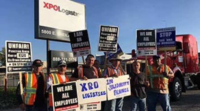 Employees File for Teamsters Representation at Two More XPO