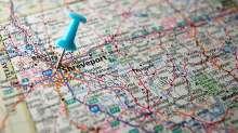Shreveport road map