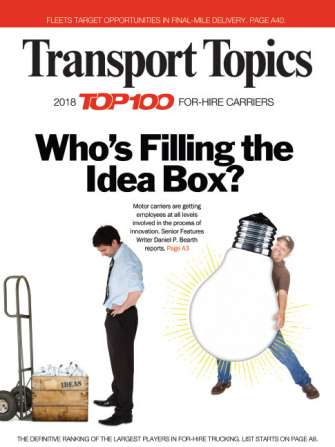 2018 Top Mail Carriers | Transport Topics
