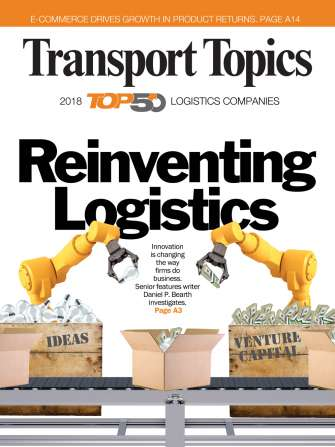 2018 Top Ocean Freight Forwarders | Transport Topics