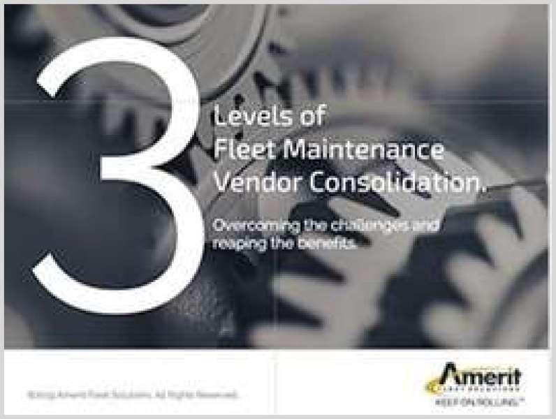 3 Levels of Fleet Maintenance Vendor Consolidation