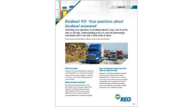 Biodiesel 101: Facts about the Fuel and its Benefits