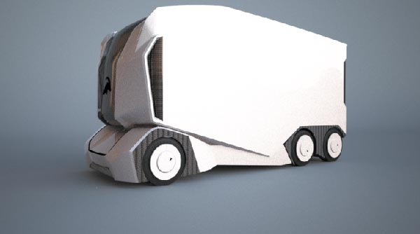 Einride Self-Driving T-Pod
