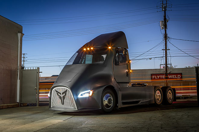 Thor Trucks to Launch New Entry in Battery-Electric Class 8 Market