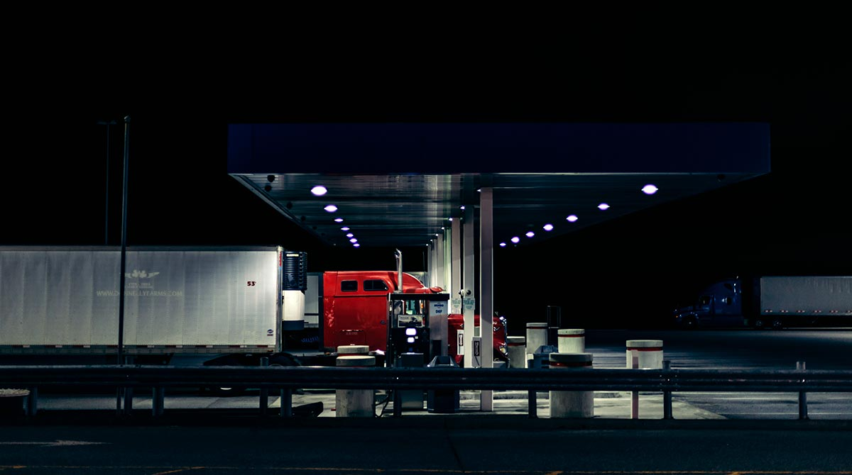 truck stop diesel