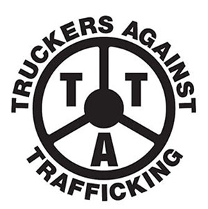 human trafficking in kansas truckers join fight transport topics  truckers against trafficking logo